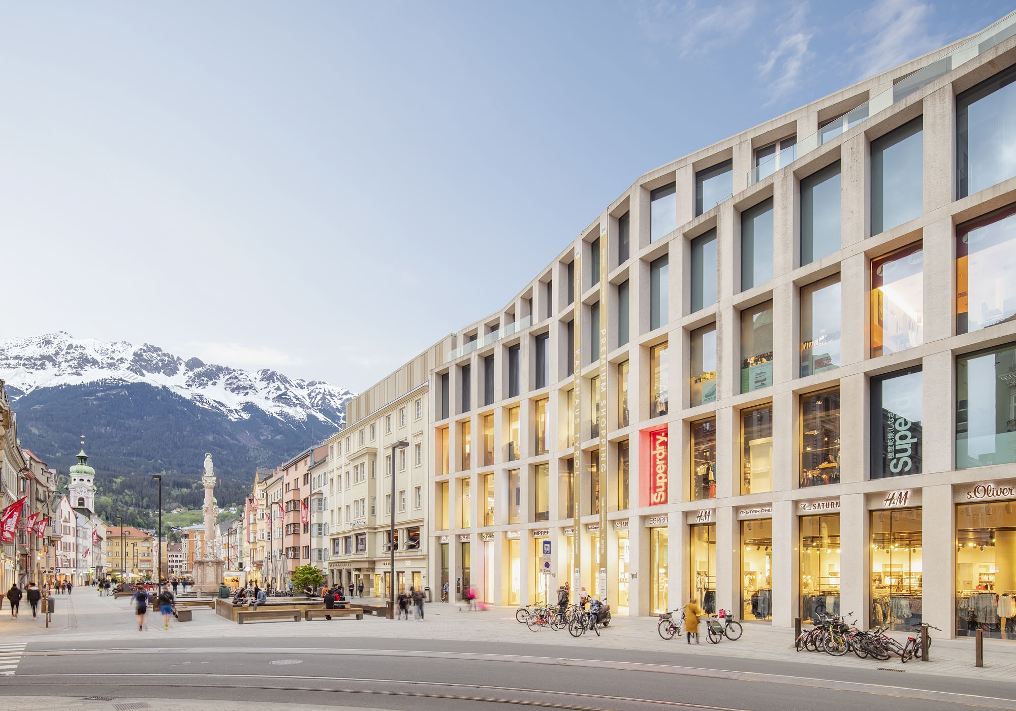 Kaufhaus Tyrol - Innsbruck Design by architect David Chipperfield